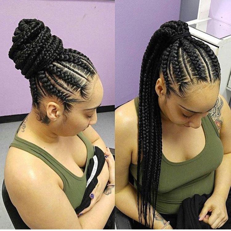 Braided Ponytail Hair Pinterest Braids Hair And Hair Styles
