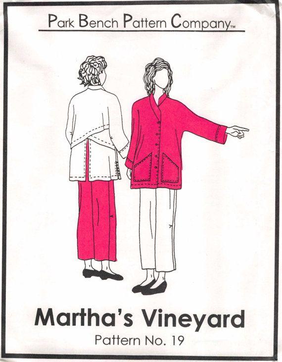 Park Bench Pattern Company Martha S Vineyard Pattern No 19 Misses