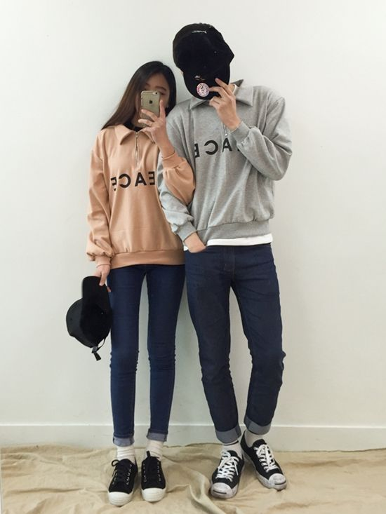 K Daily Couple Set Pakaian Pasangan Pasangan Korea Pakaian Fashion
