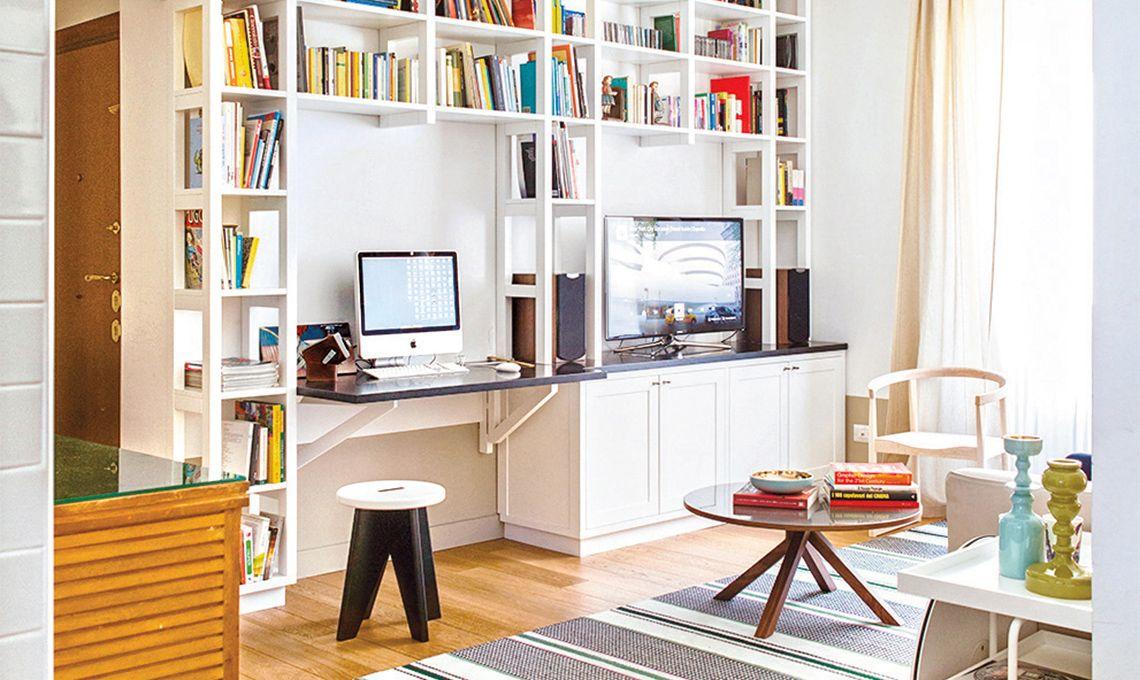 Ecco come ricare l\'angolo studio in case piccole: dal soggiorno alla ...