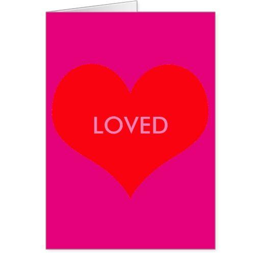 Loved Valentine's Day Card