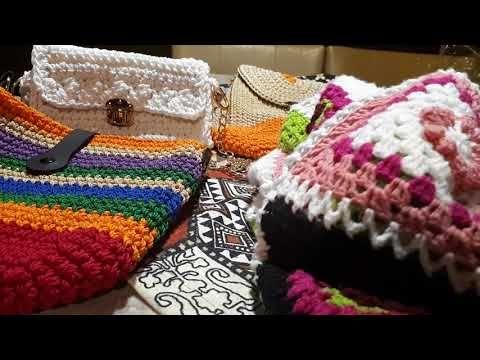 dd35ef287 بيت الكروشيه - YouTube | by me | Bags, Purses, Straw Bag
