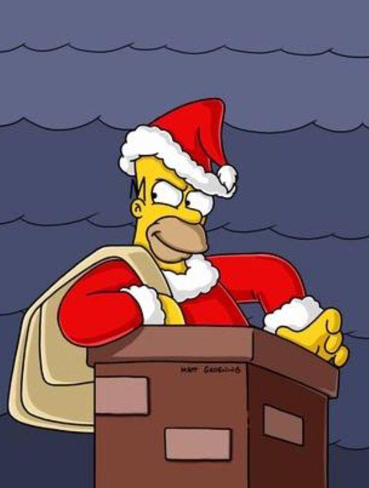 Futurama Christmas Episodes.Xmas Homer Homer Simpson Simpsons Characters Christmas