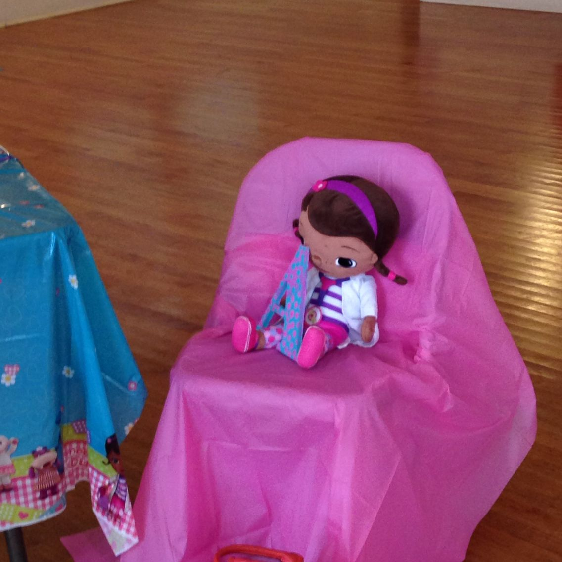 Doc mcstuffins with daughters initial