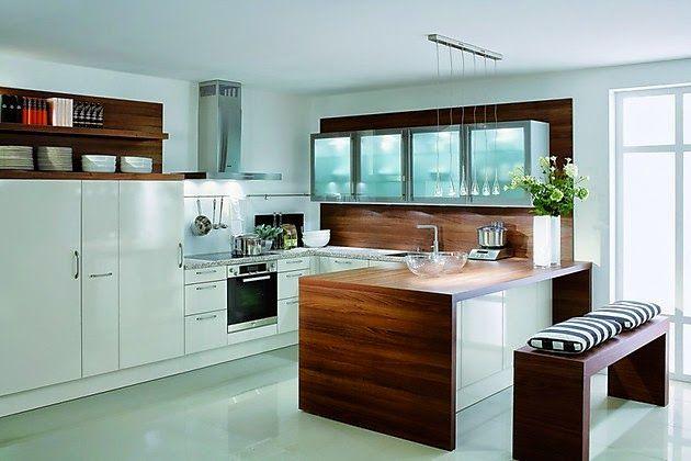 Diseño cocina forma U | Arreglos de mesa | Pinterest | Cocina ...