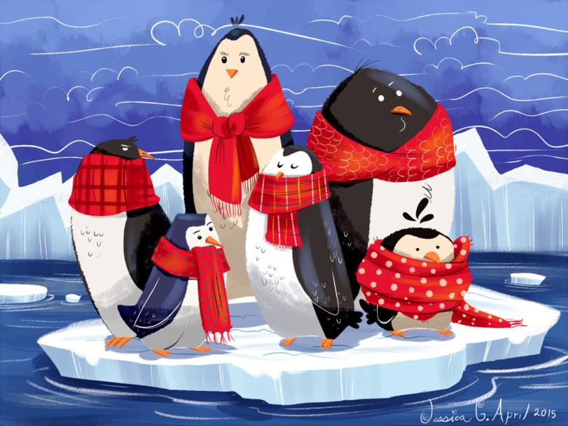 как открытка пингвинчик последние годы стал