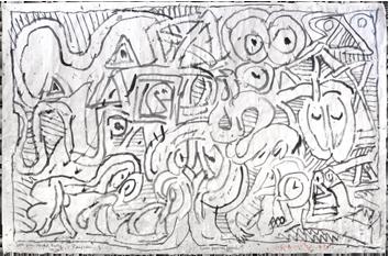 Voir Et Decouvrir Pierre Alechinsky Estampes Signees Gravures Et Lithographies Alechinsky Lithographie Estampes