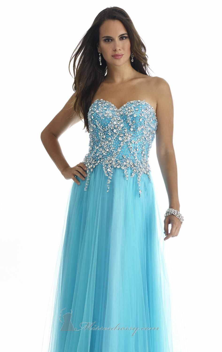 Beaded Chiffon Gown by Morrell Maxie 14437 Dress $284.5 Morrell Maxie Dresses