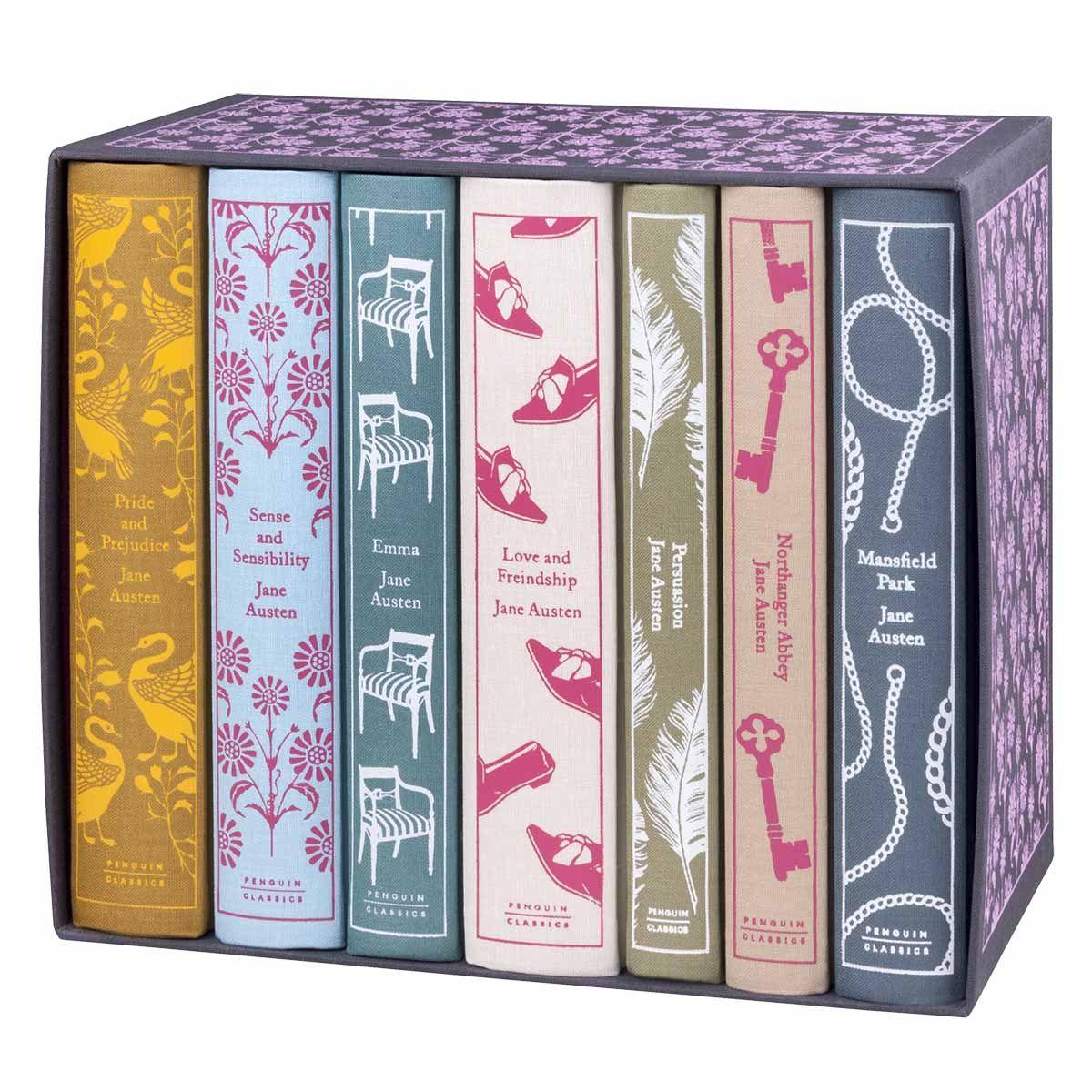 Penguin Classics Jane Austen Box Set In 2019 Want Jane Austen