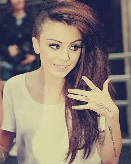 30 New One Sided Shaved Hairstyles Haircuts For Girls Women