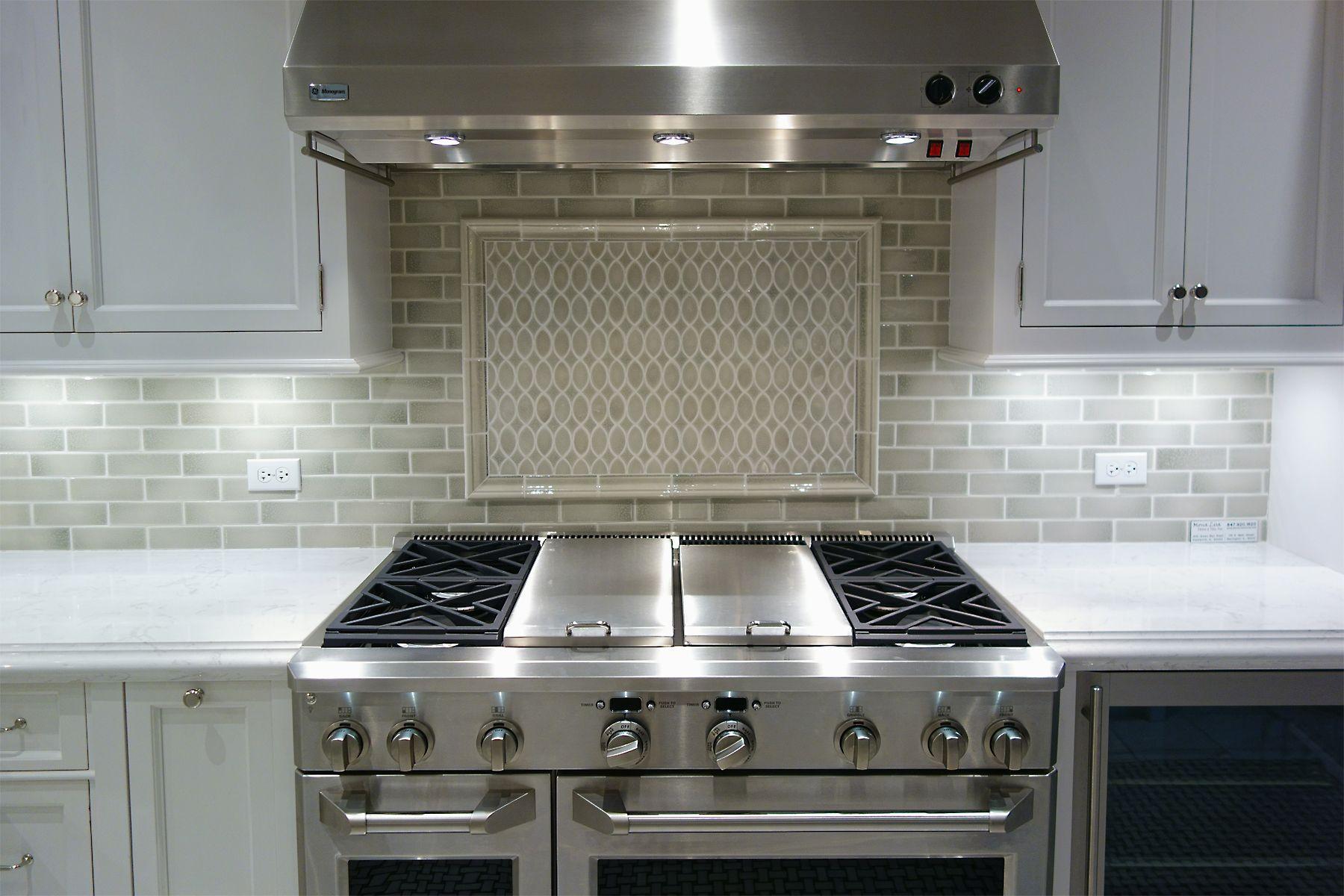 ABT GE Monogram range dual stainless Kitchen remodel