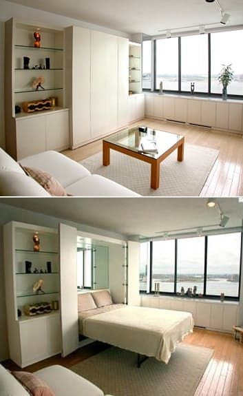 15 Creative Small Beds Ideas For Small Spaces Murphy Bed Ikea