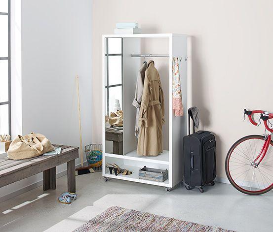249 00 Fr Die Ruckwande Dieser Mobilen Schrank Garderobe Sind