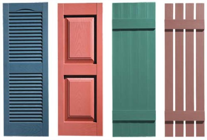 Diffe Types Of Wood Blinds And Shutters Exterior