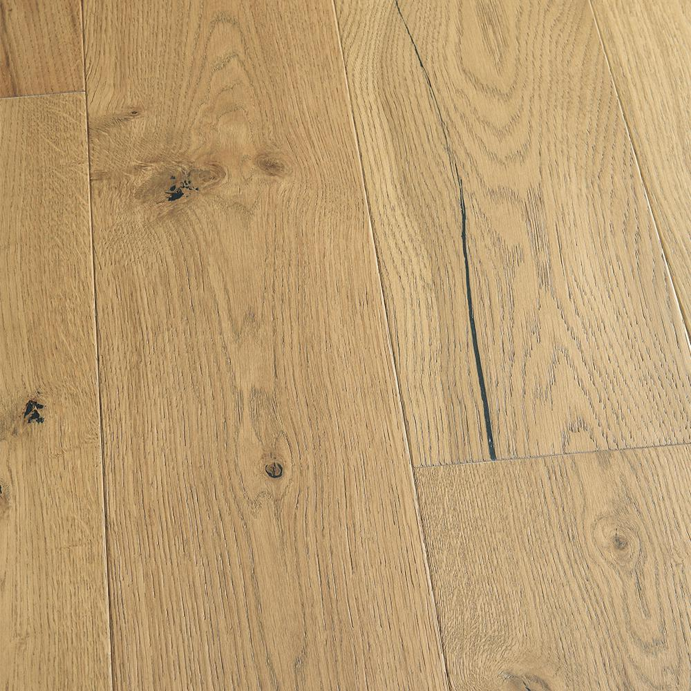 Malibu Wide Plank French Oak Sunset Cliffs 3 8 In T X 6 1 2 In W X Varying L Engineer In 2020 Engineered Hardwood Flooring Engineered Hardwood Wood Floors Wide Plank