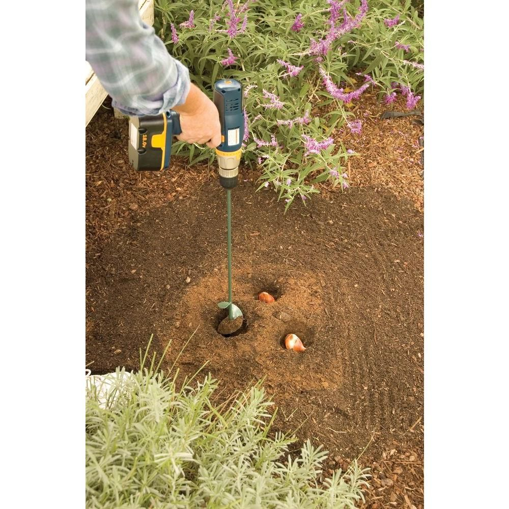 Lewis Tools Roto Digger 24 In X 2 75 In Dia Garden Auger