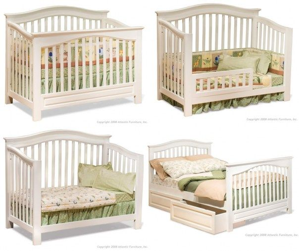 wow  crib that turns into several types of beds