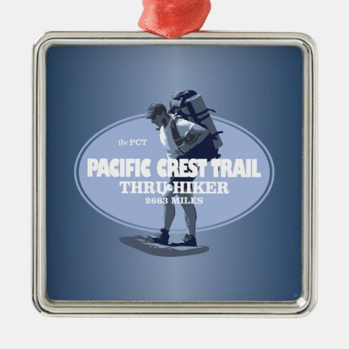 Pacific Crest Trail (TH) Metal Ornament   christmas dyi decorations, great christmas ideas, christmas gold decorations #christmasdecoration #christmasornaments #christmascookies