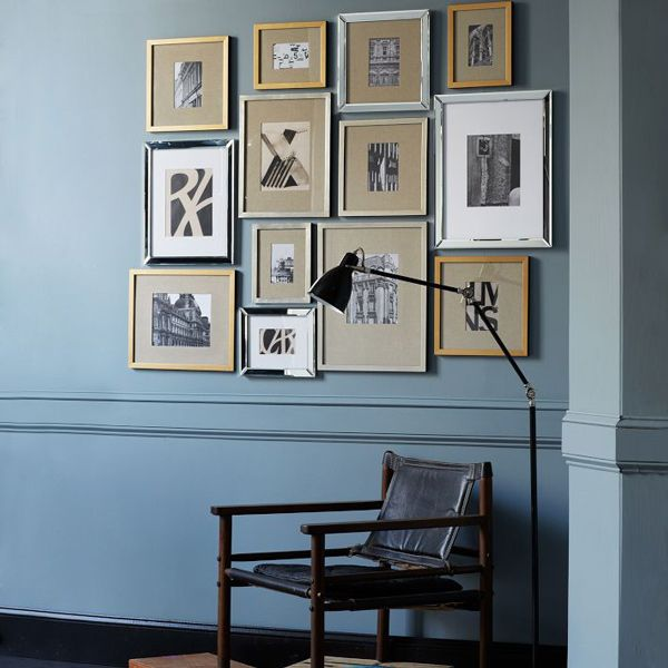 gallery frame wall west elm | Indoor Style | Pinterest