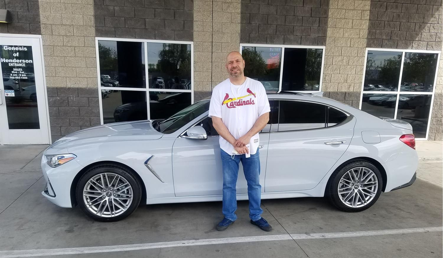 Emory S New 2020 Genesis G70 Congratulations And Best Wishes From Henderson Hyundai Superstore And Anas Ghafoory In 2020 New Hyundai Hyundai Hyundai Dealership