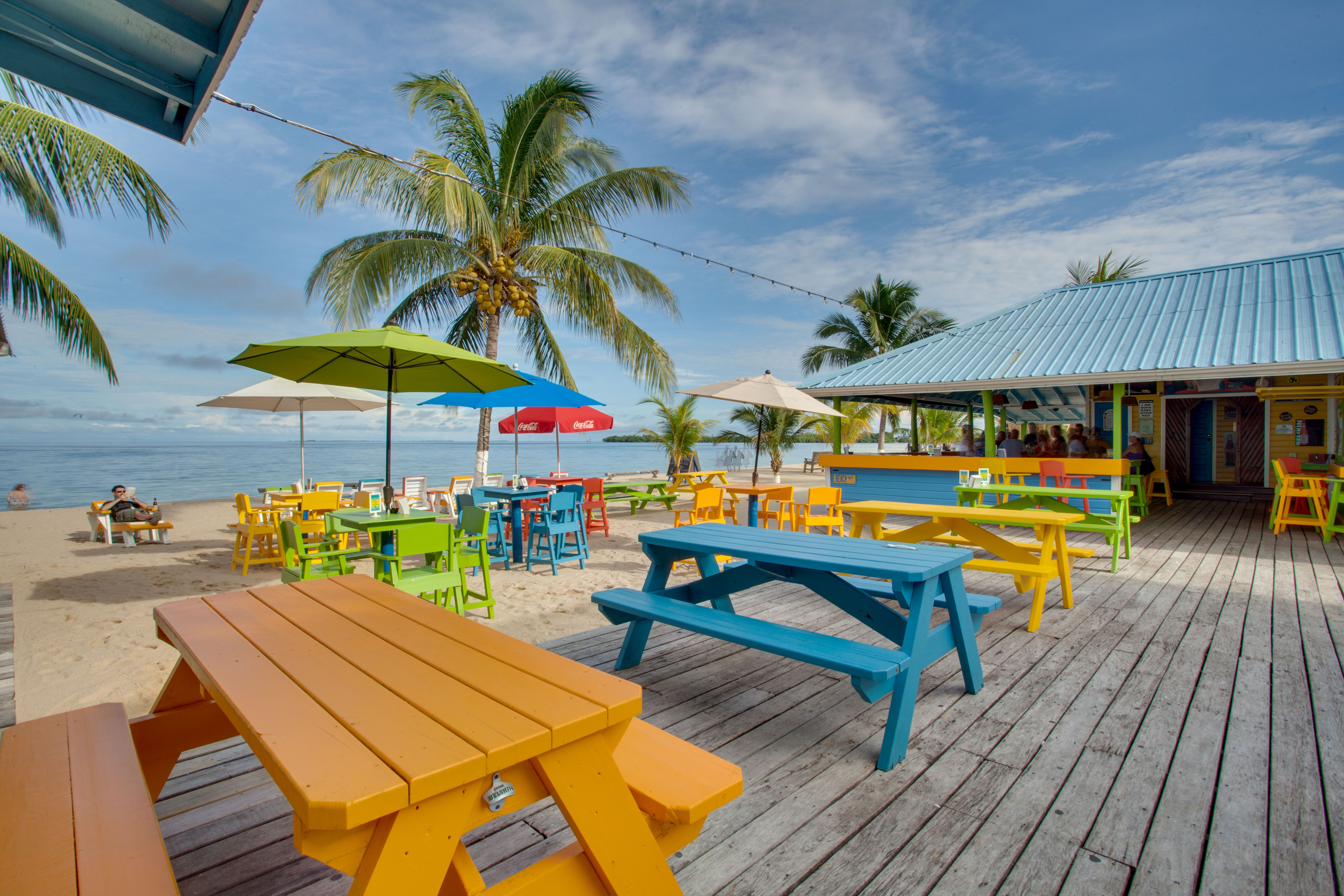 Tipsy Tuna Beach Bar in Placencia Belize  Placencia belize, Beach