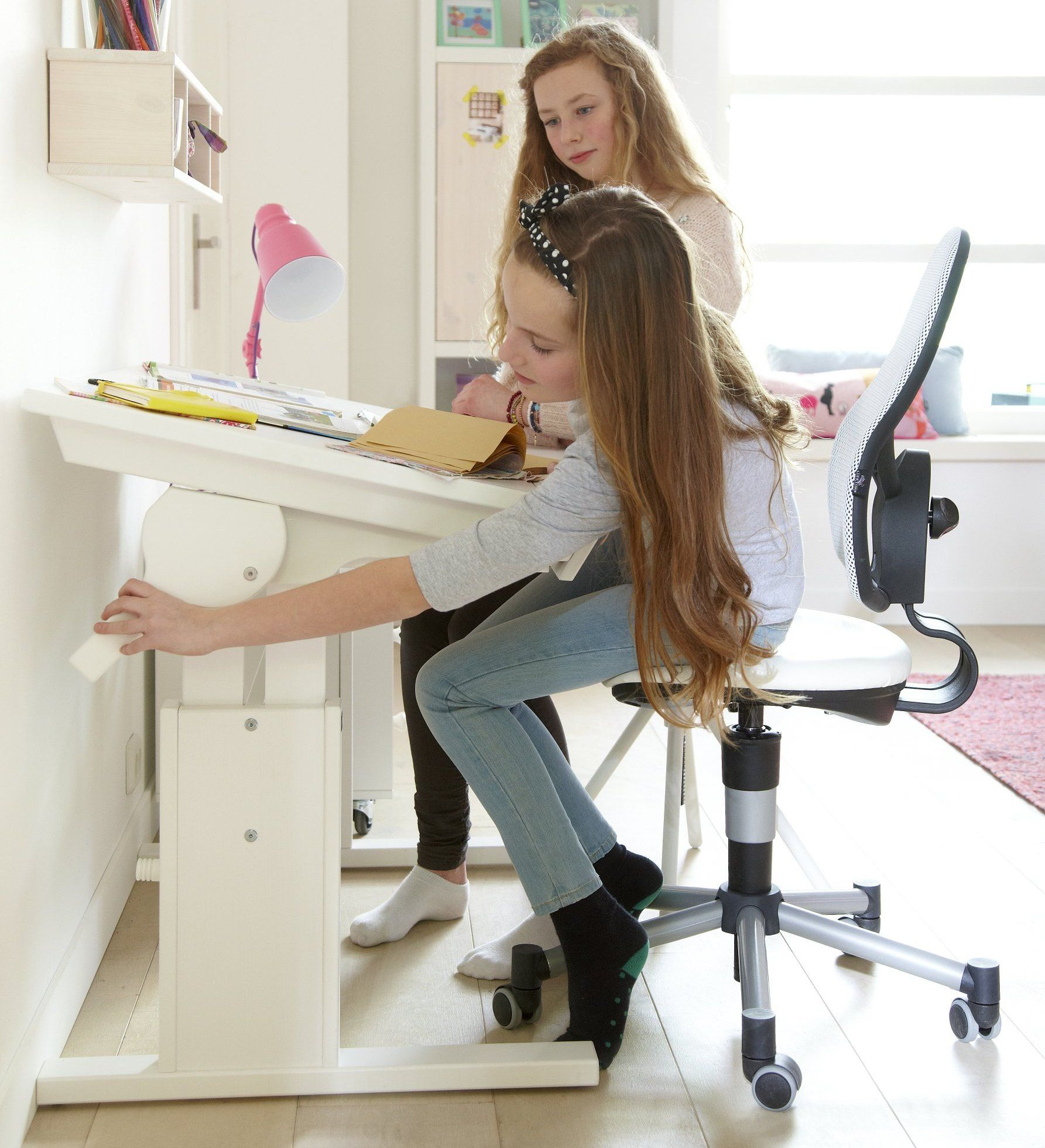 Small Desk Height Slant Adjustable By Lifetime Kidsrooms