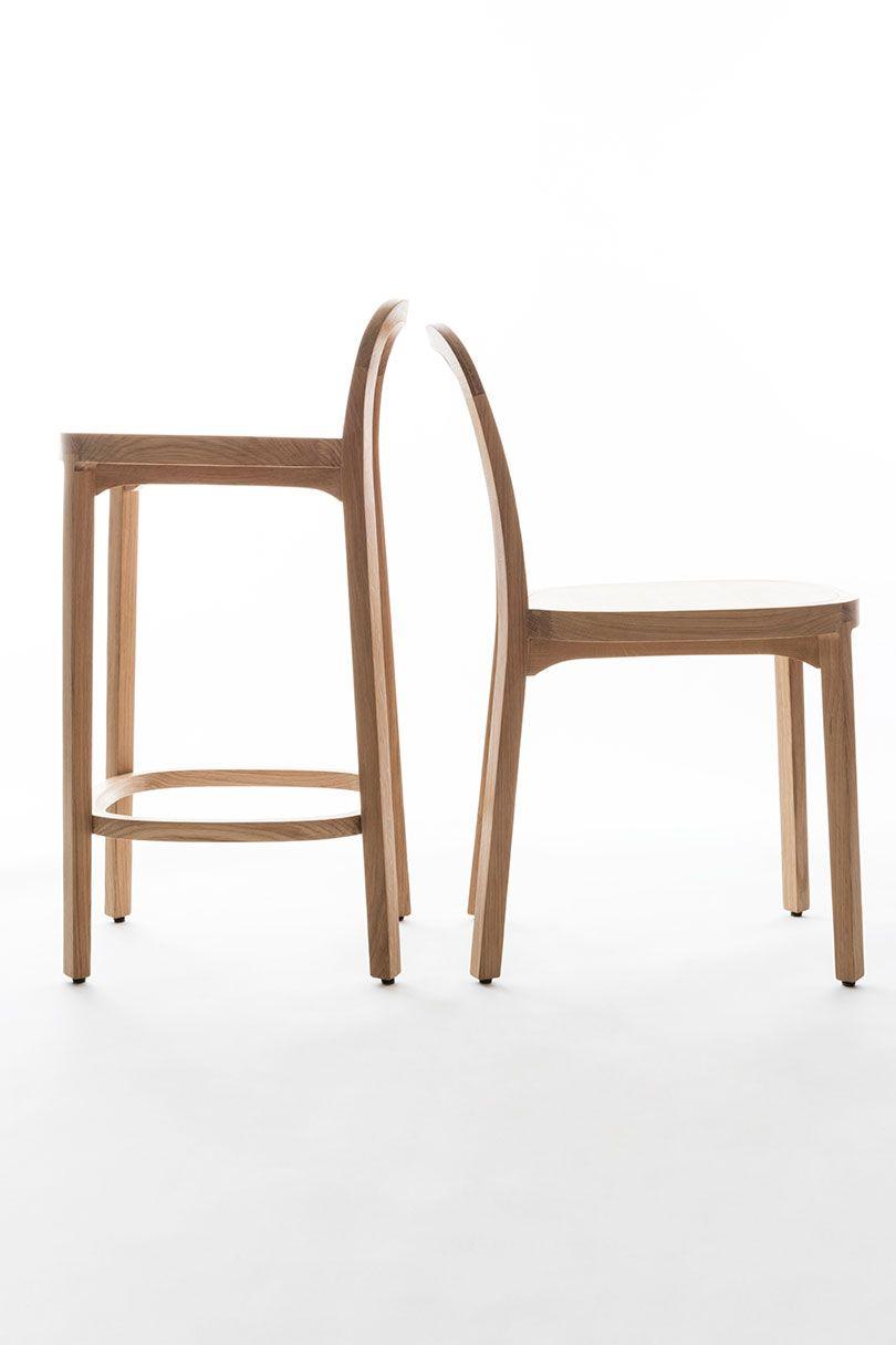 Siro barstool designed by ilkka suppanen raffaella mangiarotti woodnotes 2018 new collection linea inc modern furniture los angeles