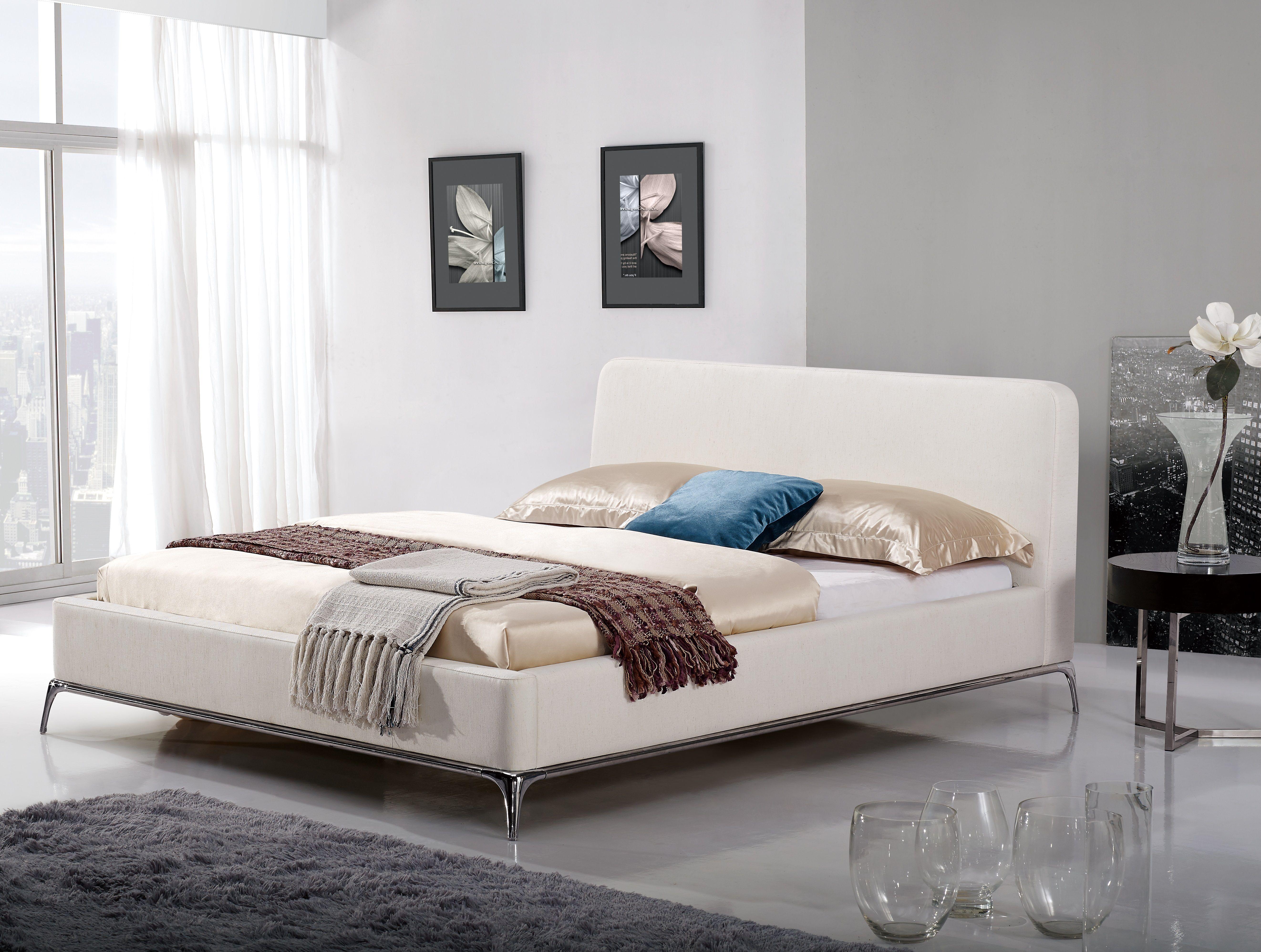 Austin EcoLeather Platform Bed Bed, Platform bed