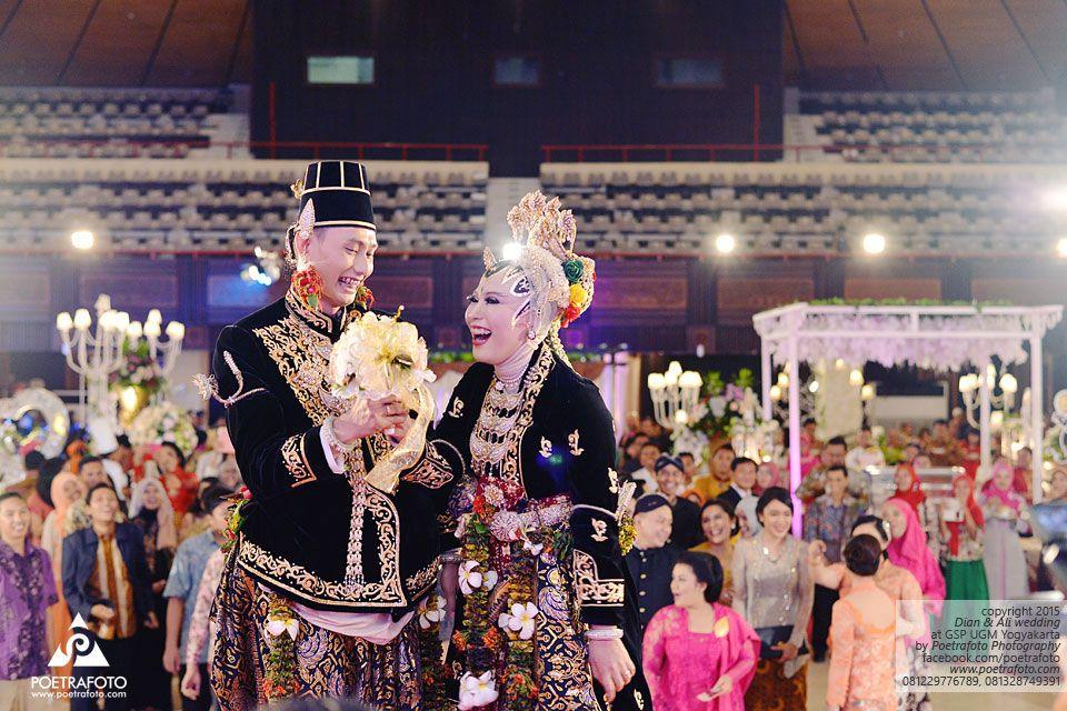 17 Foto Wedding Pengantin Jawa Paes Ageng Kanigaran