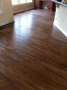 Red Oak With Duraseal Provincial Stain Stained Oak