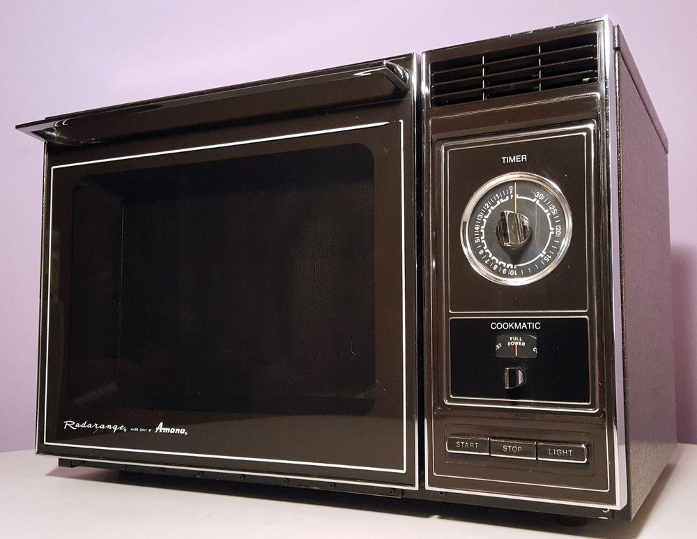 Details About Amana Radarange 1982 Vintage Microwave Oven