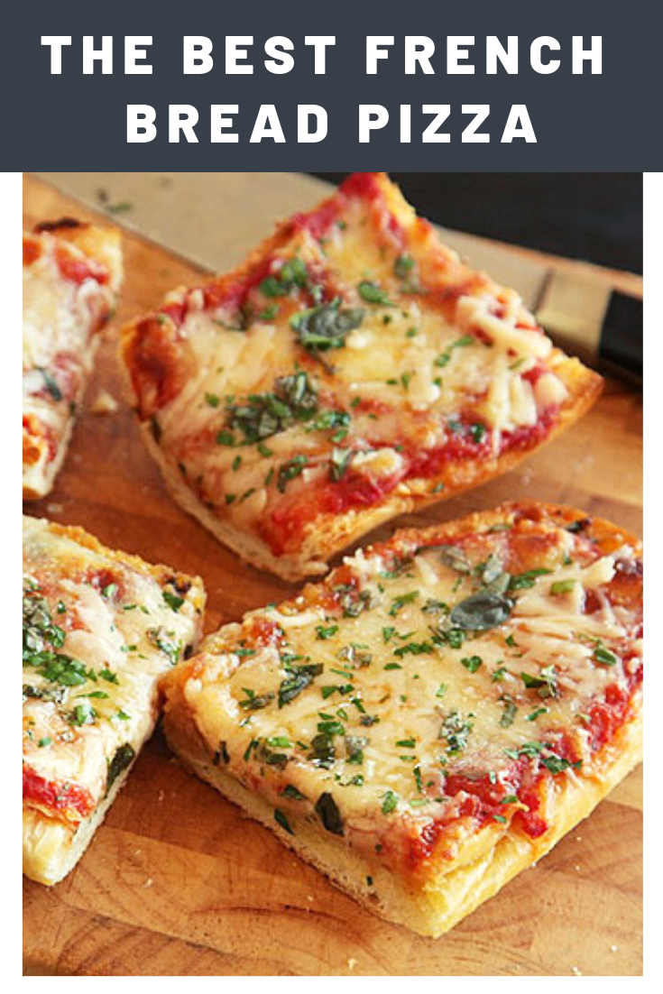 Photo of The Best French Bread Pizza Recipe