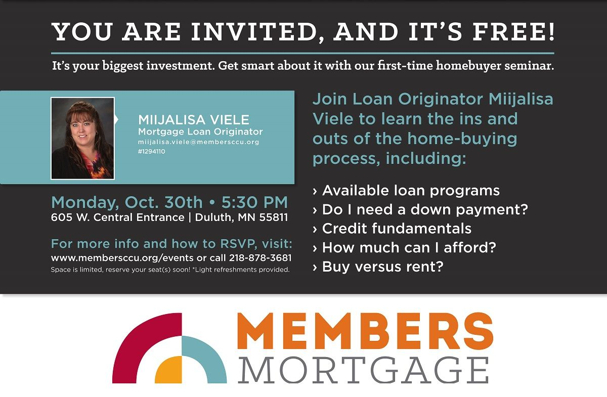 Miller Hill First Time Home Buyer Seminar Buying A House