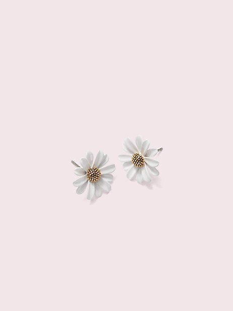 Kate Spade Into The Bloom Studs #katespadewallpaper Kate Spade Into The Bloom Studs, White #katespadewallpaper
