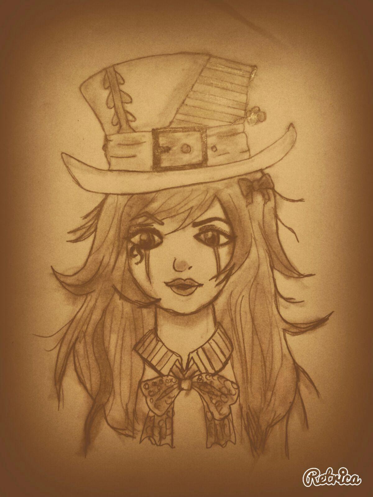 Mad Hatter Inspired By Melanie Martinez Melanie Martinez Drawings Alice In Wonderland Drawings Drawings