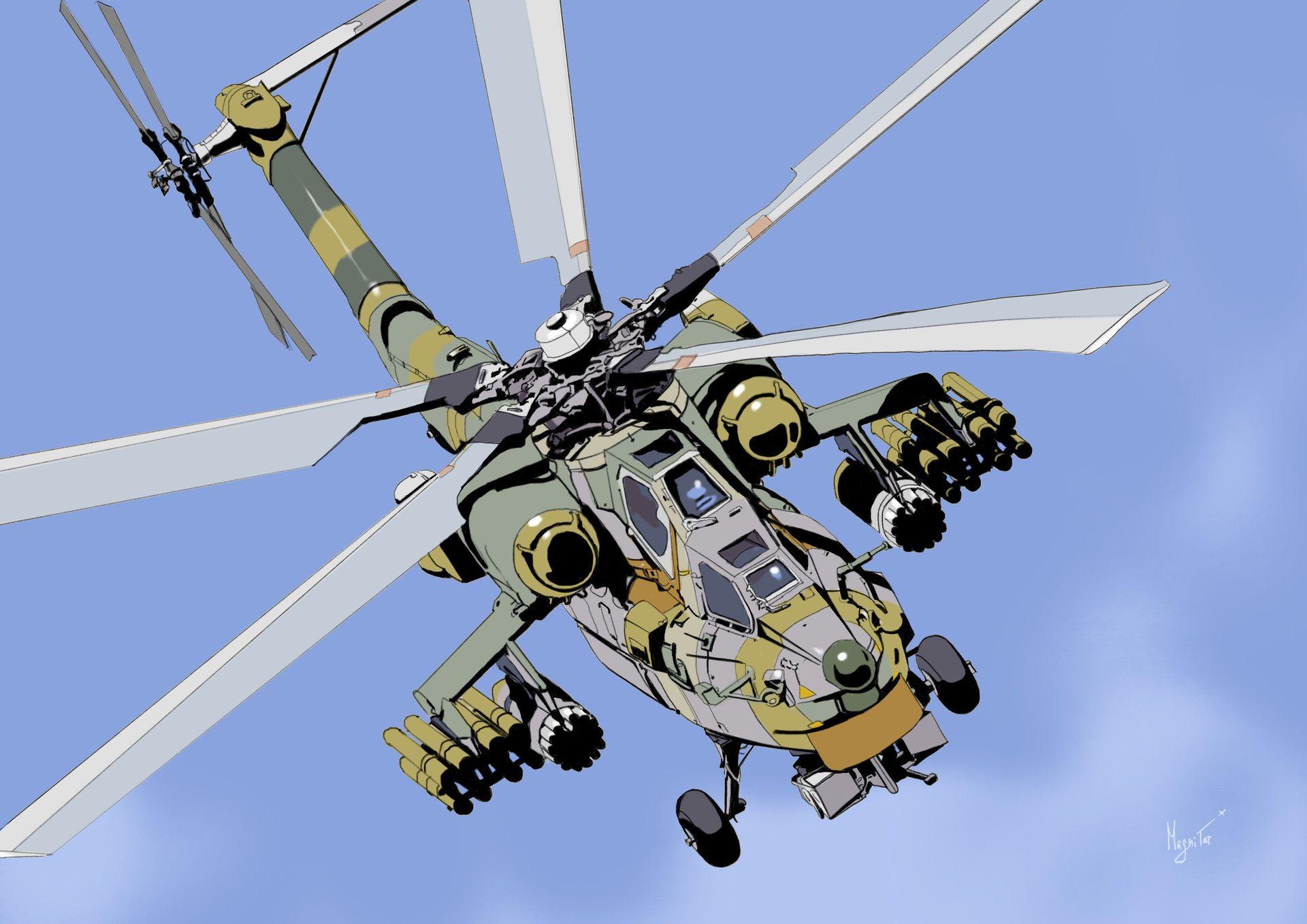 Обои CGI, helicopter. Авиация foto 12