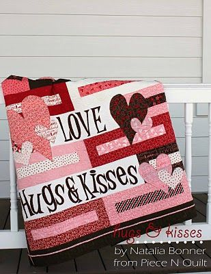 If you're really motivated before Valentine's Day, this is a beautiful and free quilt pattern!