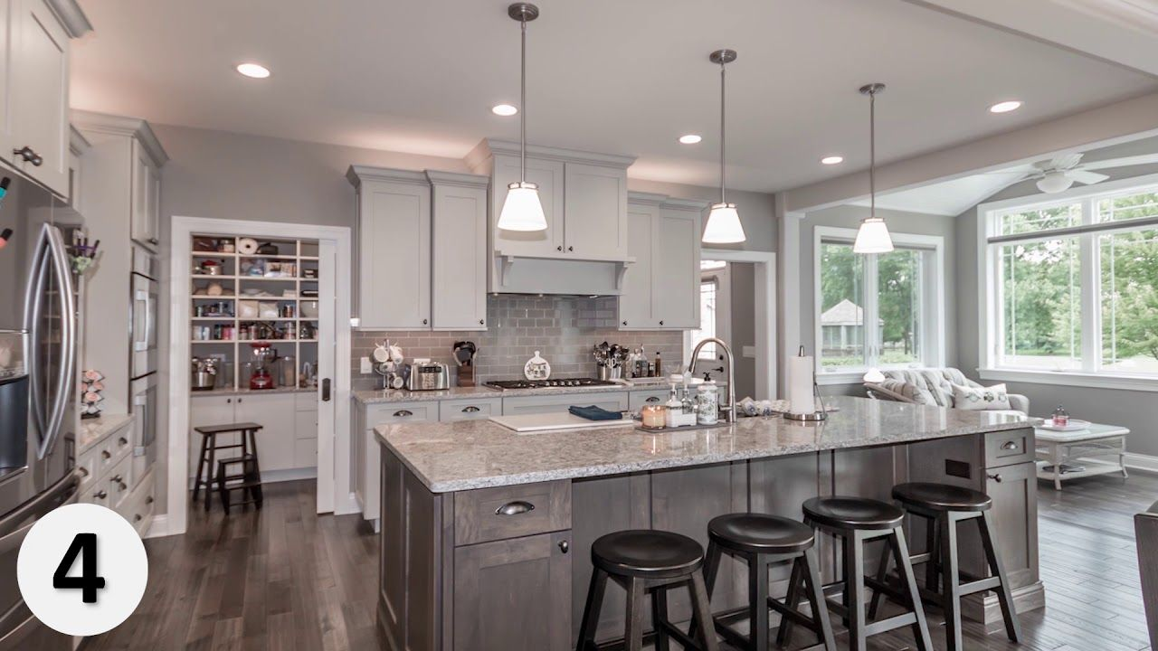 Top Ten Kitchen Designs From Our 2018 Home Tours Kitchens Kitchendesign Kitchenide Kitchen Design Centre Custom Kitchens Design Kitchen Design Pictures