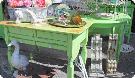 green shabby chic furniture painted furniture pinterest shabby chic and shabby chic. Black Bedroom Furniture Sets. Home Design Ideas