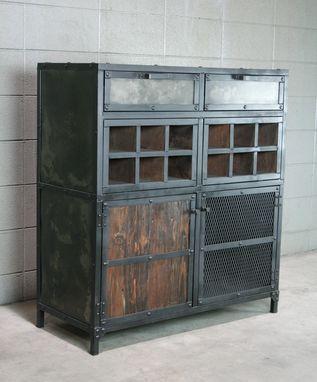 Wine Cabinet Vintage Style