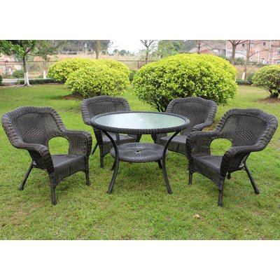 August Grove Ovalle 5 Piece Dining Set 5 Piece Dining Set