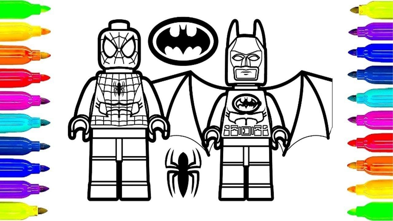 Lego Spiderman Coloring Pages Lego Spiderman And Lego Batman Coloring Pages For Kids To Learning Entitlementtrap Com Batman Coloring Pages Lego Coloring Pages Spiderman Coloring
