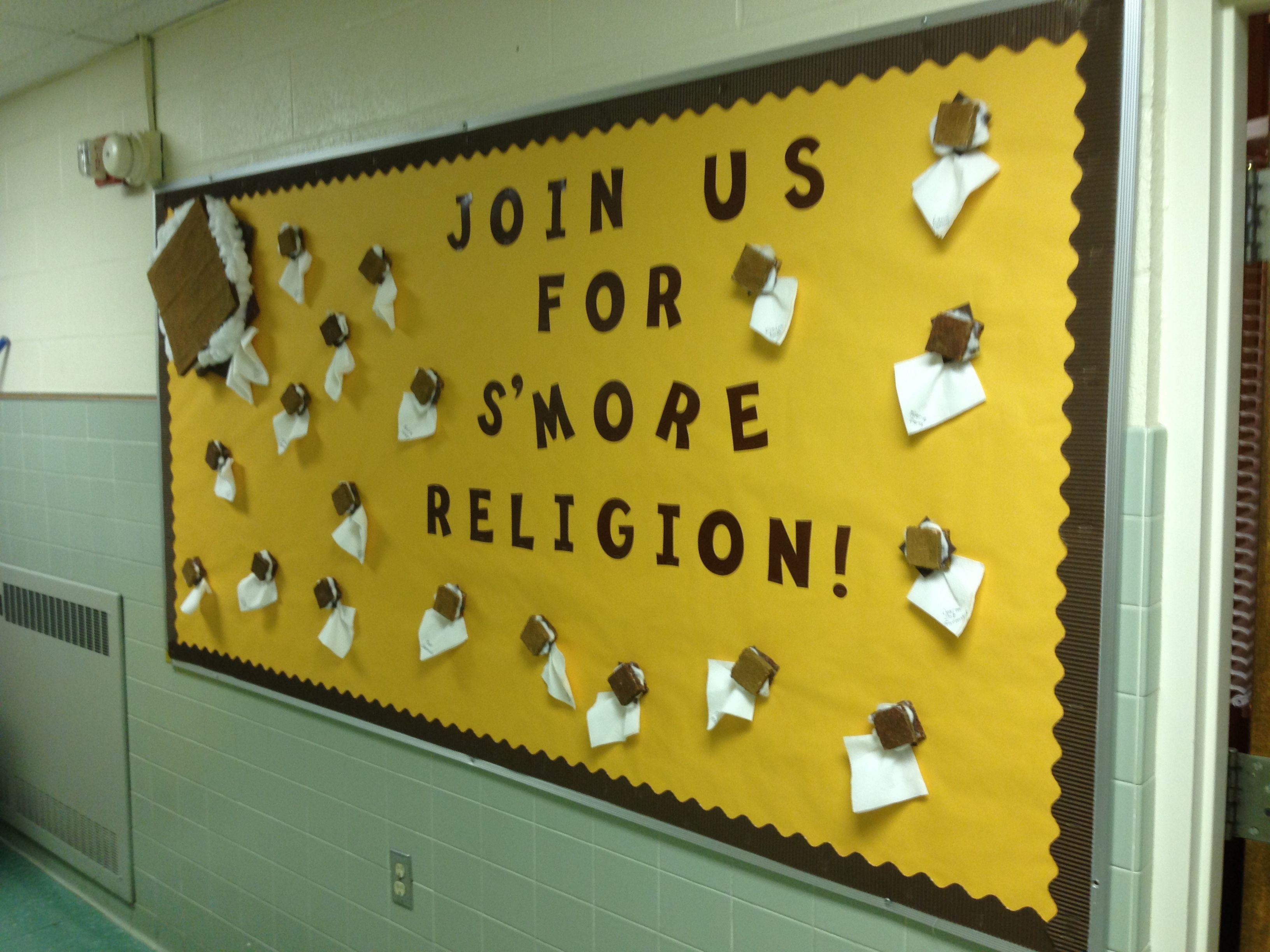 Religious Education bulletin board ideas | Bulletin Boards ...