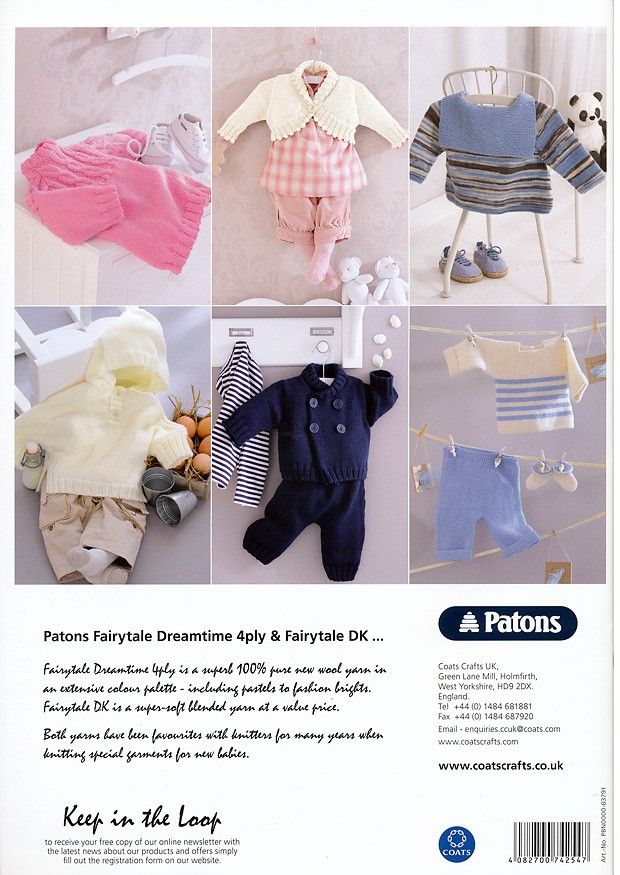 18 Classic Styles in Patons Fairytale Dreamtime 4 Ply & Fairytale DK ...
