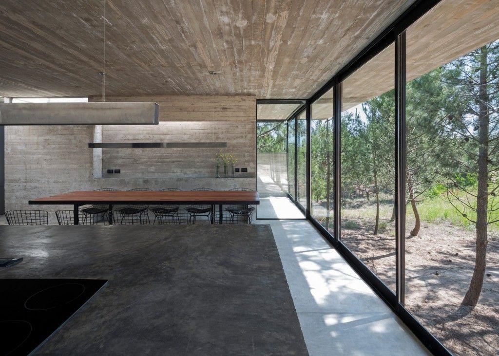 Droomhuis La House : Een droomhuis in het bos van argentinië ramen