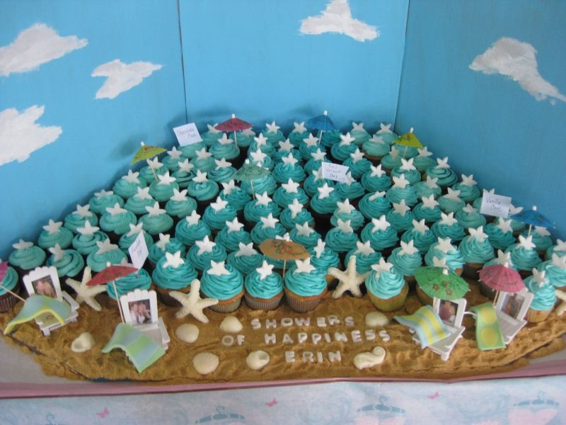 Beach Inspired Bridal Shower (Source
