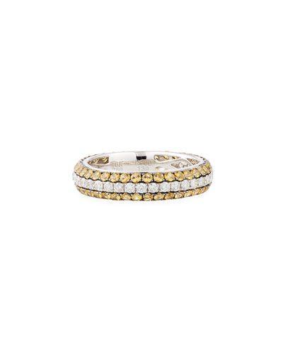 Diana M. Jewels 18k Blue Sapphire & Diamond Ring, Size 6