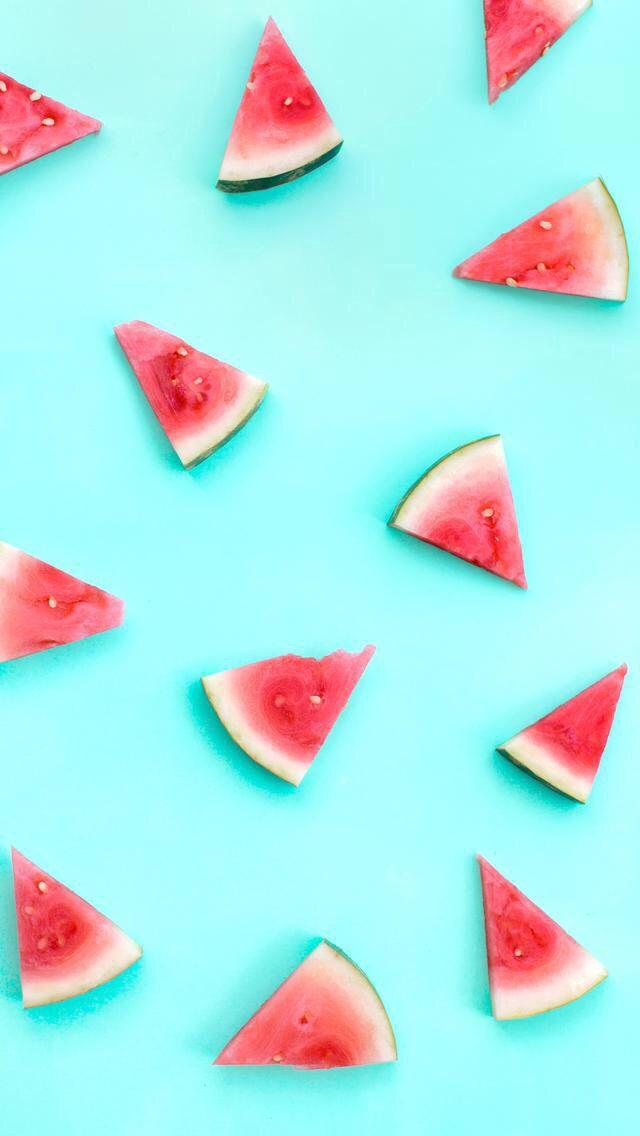 Food wallpaper iPhone Арбуз, Летние обои, Фоны для iphone