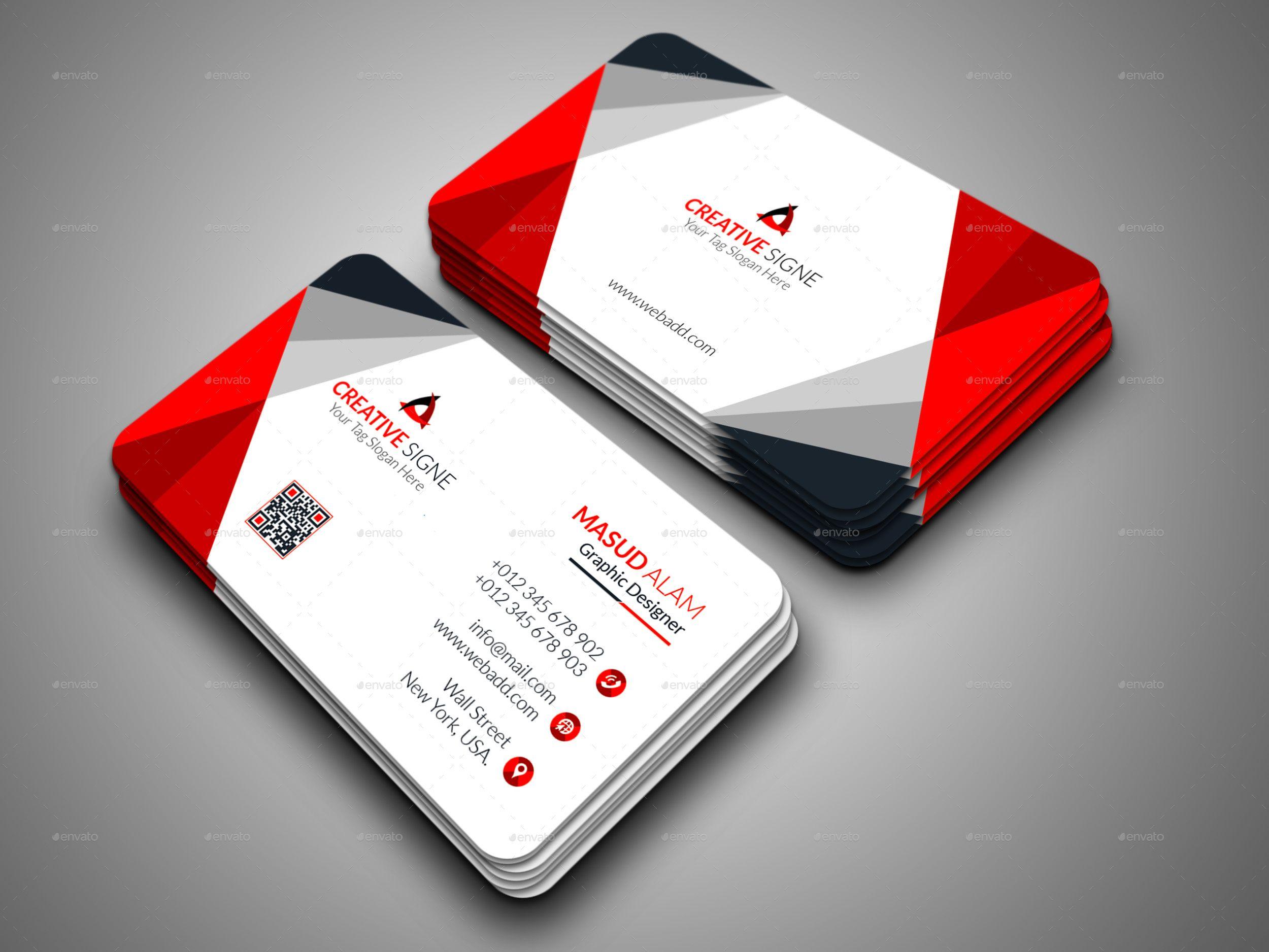 Business Card Bundle 2 In 1 Business Card Logo Design Business Cards Layout Business Card Design Creative