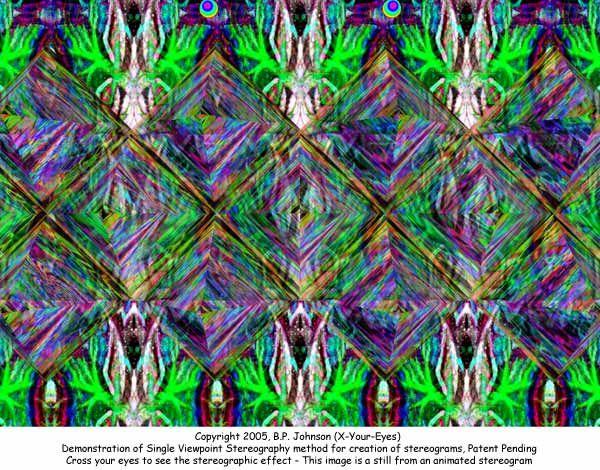 Magic Eye 3d Effect Pyramids Magic Eyes Eye Illusions Magic Eye Pictures